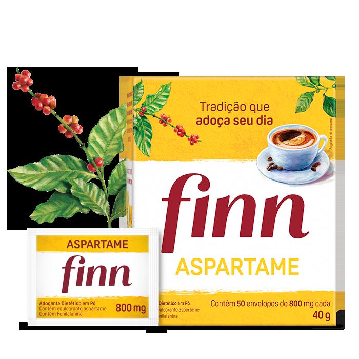 Adoçante Finn Aspartame